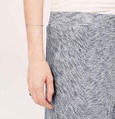 Lou & Grey Granite-Stripe Maxi Skirt | Loft