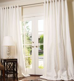 Hand Made Manhattan Blended Linen Drapes and Roman Blinds on Sale | DrapeStyle | 800-760-8257