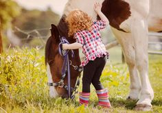 """""""A horse doesn't care how much you know until he knows how much you care.""""~ Pat Parelli"""