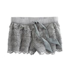 So cute! What To Wear: the Aerie Lacy Sleep Boxer for a Girls Night...In!