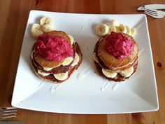 Amaranth Pfannkuchen