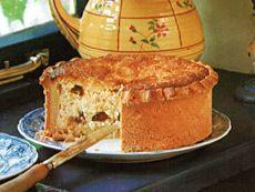Gâteau au fromage blanc et Griottines