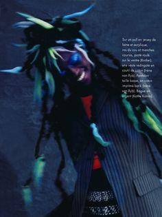 rasta dreads hair color - elle magazine - nicolas jurnjack - hair archives - french elle magazine, photo : michael woolley, make up: pascale guichard, hair : nicolas jurnjack