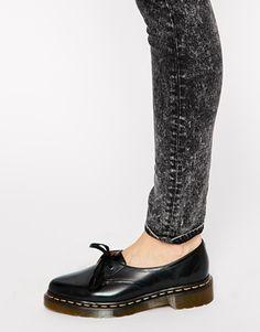 Imagen 4 de Zapatos planos negros con 1 ojales Core Siano de Dr Martens