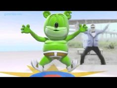 Gangnam Gummy Style Dance Gummibär The Gummy Bear Psy 싸이 Cover Song 강남스타일 - YouTube
