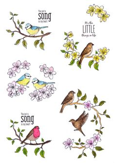 New from Hunkydory Crafts, comes their latest stamps from the For the Love of Stamps range! This is an exciting new collection of fantastic stamps to suit all kinds of craft projects. There is a variety of different themes to create cards for anyone an Hunkydory Crafts, Digi Stamps, Scrapbooking, Coloring Pages, Craft Projects, Hunky Dory, Clip Art, Birds, Love