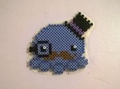 it's a dapperpus! #diy #perlerbeads #perlerbeadart #perlerbeadsprites #cute #octopus #dapper #animal