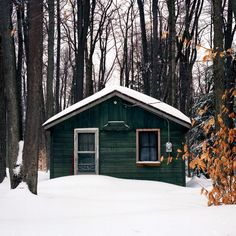 """cabinporn: """" """"Camp Potatochip"""" located in Potter County, PA. Submitted by Brad Bireley from his PA Hunting Camp Portrait Project. """""""