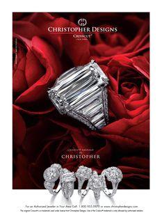 Christopher Designs CrissCut Diamond engagement ring #ArthursJewelers Wedding Engagement, Diamond Engagement Rings, Rare Diamonds, Christopher Designs, Ring Shots, Ring Designs, Gemstone Jewelry, Rings For Men, Jewels