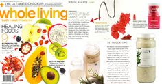 #100percentpure in Whole Living Magazine