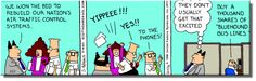 The Seven Wonders of the World     Morning Story and Dilbert