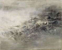 See original image Chinese Painting, Chinese Art, White Art, Black Art, Georges Mathieu, Most Expensive Painting, Tachisme, Pencil Painting, Beginner Painting