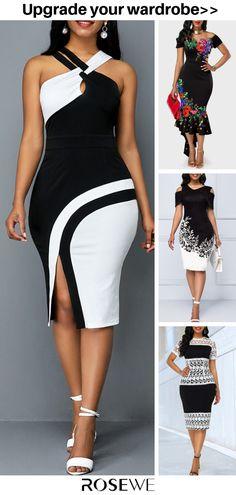 Women S Fashion Sandals Cheap Summer Dress Outfits, Sexy Outfits, Chic Outfits, Casual Dresses, Fashion Outfits, Womens Fashion, African Fashion Dresses, Classy Dress, Types Of Fashion Styles
