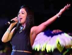 """Singer Neeti Mohan, best known for songs like """"Kheech meri photo"""", """"Jiya re"""" and """"Ishq wala love"""", says she never thought of becoming a singer and it was her sisters — Shakti Mohan and Mukti Mohan — who showed faith in her talent. Neeti, who appears as a coach on the popular children singing reality … Continue reading """"Never Thought I'll Become A Singer: Neeti Mohan"""""""