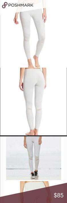 05aa8520e5465 ALo yoga WHITE moto legging XS Brand New With tag Brand New with tag, XS