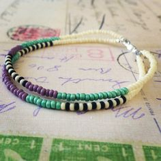 Seed Bead Tribal Bracelet