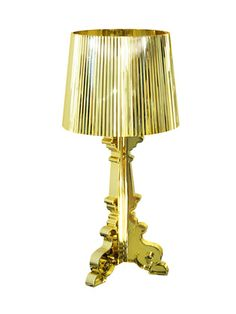 I want this so bad! Keember Small Gold Lamp. -Pangea Home