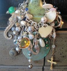 By the Sea....wow...you only need to wear ONE statement piece like this..