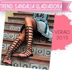 Beleza Sem Drama: TREND: Sandálias Gladiadoras