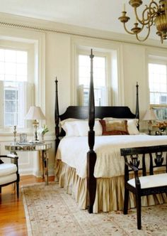 Splendor in the South #TraditionalBedroomDecor
