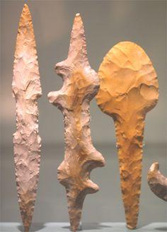 Hand knapped stone tools, Stone Age