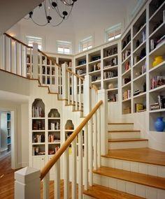 staircase/shelving