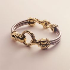 Gold Circle Bracelet - David WysorDavid Wysor