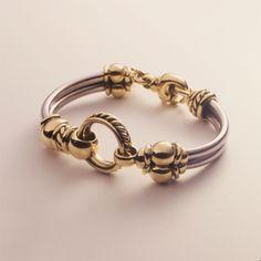 Gold Circle Bracelet - David WysorDavid Wysor