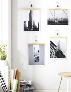 25 ideas para decorar con fotos de forma genial.   #decorar #decoración #fotos #creatividad #diy