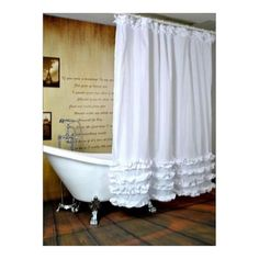 Black Tree White Fabric Bathroom Shower Curtain Polyester with 12 Hooks