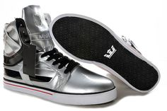 official photos a8c4e 1cd64 Buy Supra Skytop II Silver Black White Men s Shoes Online from Reliable  Supra Skytop II Silver Black White Men s Shoes Online suppliers.