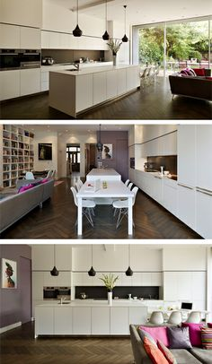 bulthaup by kitchen Architecture 'Family entertaining space' case study