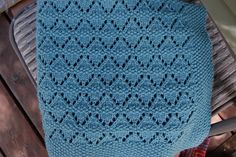 Ravelry: Moving Mountains Baby Blanket pattern by Aimee Alexander