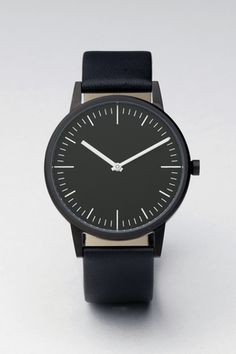 Simple black watch. Perfect.