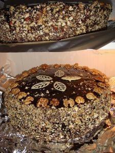 Tort orzechowo-czekoladowy - przepisy.net