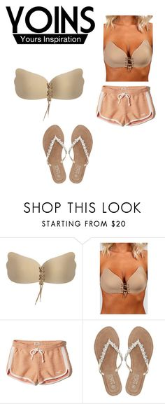 """""""Untitled #24"""" by bia-adriana ❤ liked on Polyvore featuring Hollister Co. and M&Co"""