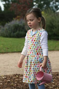 The Lotta dress pattern by Compagnie M. Sewn by While she was sleeping