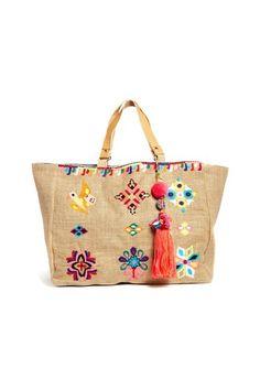 0ae4a7f2a9 bolso etnico mango - Buscar con Google Burlap Bags