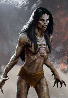 vampires in the witcher The Witcher 3, Witcher Art, Zombie Kunst, Zombie Art, Female Vampire, Vampire Art, Female Monster, Monster Art, Arte Horror
