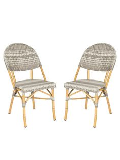 Barrow Side Chairs (Set of 2) by Safavieh at Gilt