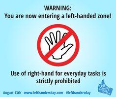 Left-Handed Zone