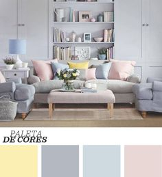 Pastel room ideas pastel blue bedroom pastel room decor pastel living room ideas for a cozy Pastel Living Room, Pastel Room, Pastel Walls, Colourful Living Room, Ideal Home Magazine, House And Home Magazine, Living Room Color Schemes, Living Room Designs, Colour Schemes