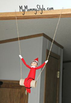 Fun elf on the shelf ideas - MyMommyStyle.com
