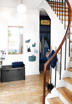 Organized & functional entryway