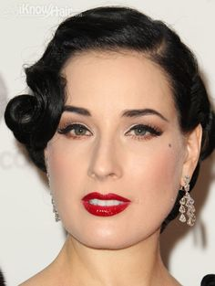 40s hair for party