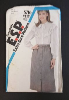 Simplicity Pattern 5716 Size 16  20 Misses by CasssOddsandEnds