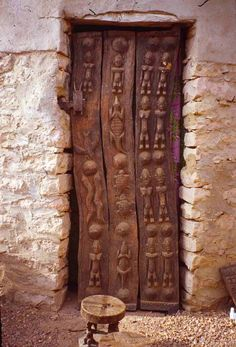 Dogon door by Lauro