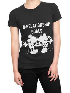 Womens Minnie Mouse T-Shirt