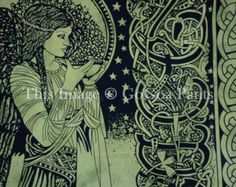 Queen Fairy Green Color Hippie faggot Tapestry wall hanging Double Cotton quilt bedspread