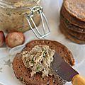 Beurre de champignons (vegan)